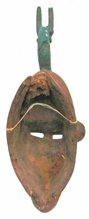 African tribal art Bambara mask