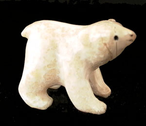 Eskimo carving of a bear