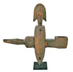 African Bambara door lock