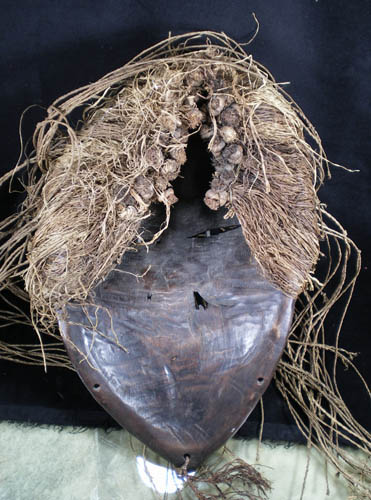 African tribal art Kuba mask