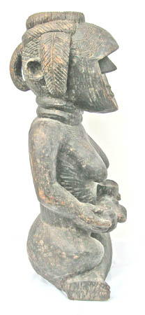 African art Toma maternity carving