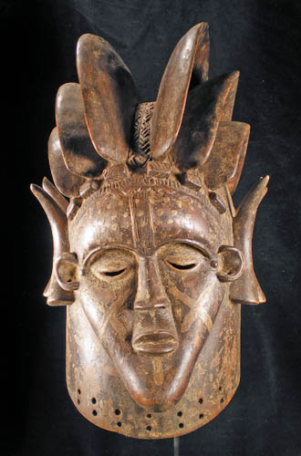 Bundu Society Bassa mask