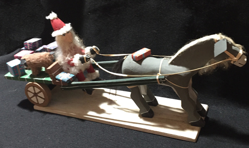 Navajo Santa Claus folk art